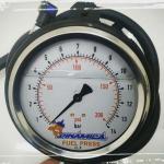 Teste de vazão de bomba de combustível